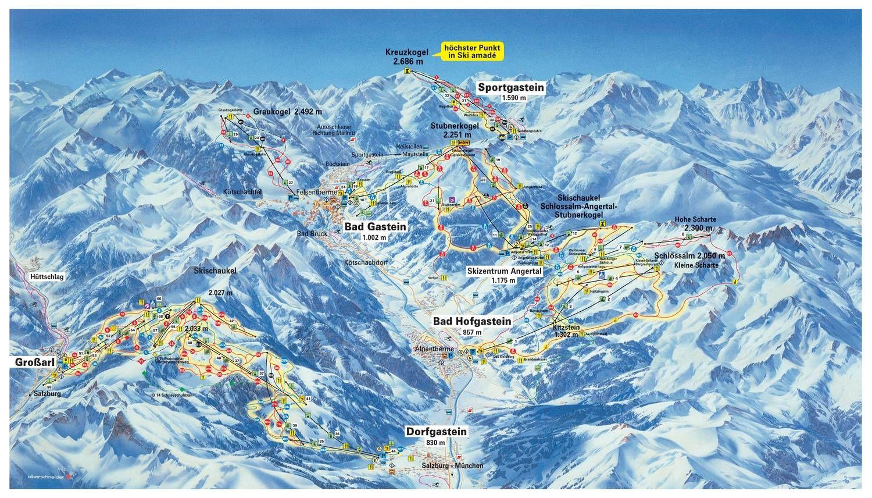 Graukogel - Badgastein Bad Gastein
