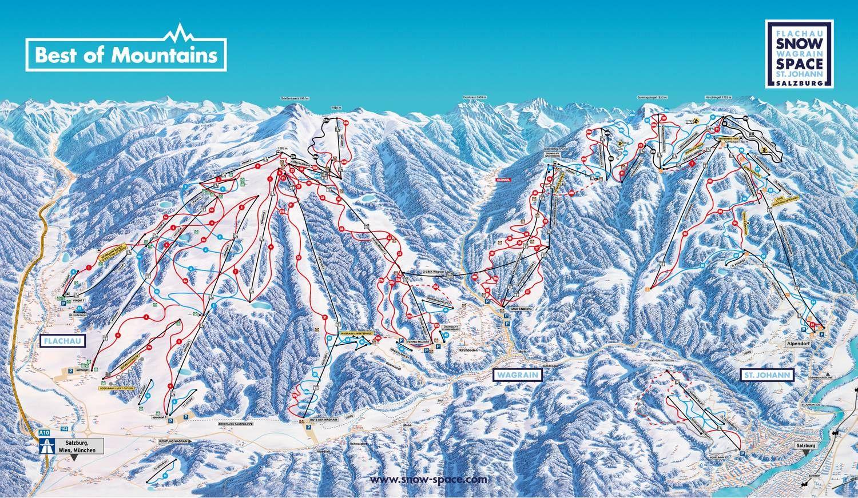 Flachau - Wagrain - Alpendorf Flachau