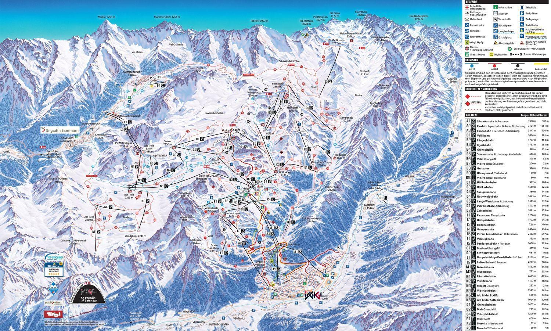 Internationale Ski-Arena Samnaun Samnaun
