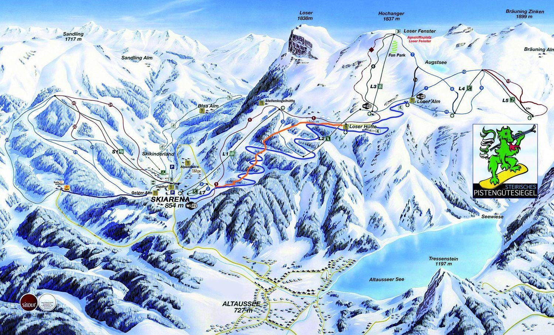 Loser Bergbahnen Altaussee Altaussee