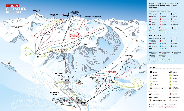 Pitztaler Gletscher und Rifflsee