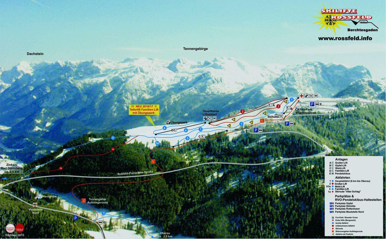 Berchtesgaden - Oberau/Rossfeld Berchtesgaden