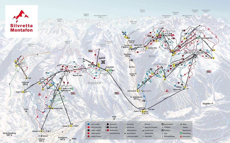 Silvretta Montafon  Gaschurn-Partenen
