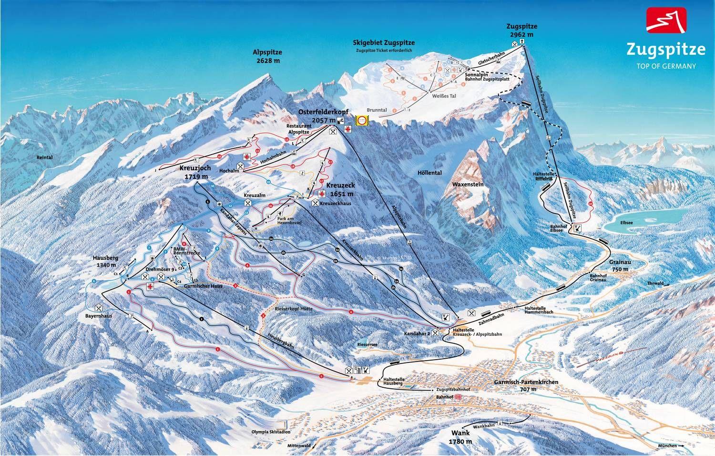 Garmisch-Partenkirchen - Classic Gebiet Garmisch-Partenkirchen