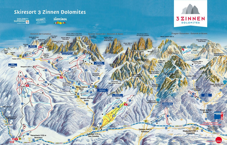 Sextner Dolomiten - Alta Pusteria Toblach
