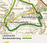 Wander- und Laufstrecke Ravelsbach