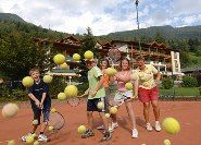 Tennis Courts at Hotel Brennseehof