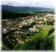 Stadtansicht - Sportanlage - Kapfenberg Steiermark