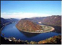 Die Donauschlinge Schlögen - Hofkirchen Oberoesterreich