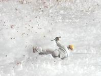 Eisklettern in der Vorderberger Klamm - St. Stefan im Gailtal Kaernten