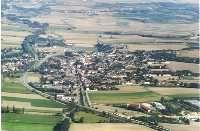 Großweikersdorf aus der Luft - Großweikersdorf Niederoesterreich