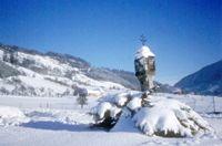 Eingeschneite Landschaft in Großraming - Großraming Oberoesterreich