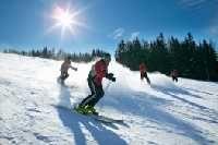 Skifahrer am Stuhleck - Hochsteiermark Steiermark