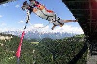 Bungy Jumping - Schoenberg im Stubaital Tirol