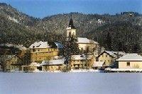 Ortsansicht-Winter - Rohr im Gebirge Niederoesterreich