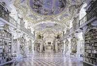Bibliothek - Admont Steiermark