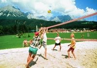 Beachvolleyballplatz im Ellmauer Kaiserbad