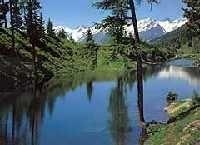 beim Schwarzsee oberhalb Blatten... - Loetschental - Loetschberg Wallis