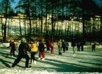 Poeschlteich Natural Ice Skating Rink