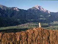 Blick ins Tal während der Heubringung - Dellach im Gailtal Kaernten