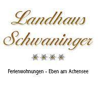 Logo Landhaus Schwaninger - Appartements Landhaus Schwaninger Maurach am Achensee