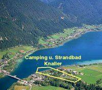 Lage Campingplatz Knaller am Weissensee - Camping Knaller Weissensee-Sued Weissensee