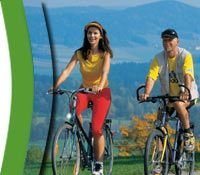 Radfahren in Schwarzenberg | Böhmerwald | Oberösterreich | Österreich - Schwarzenberg am Boehmerwald Oberoesterreich