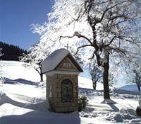 Verschneite Kapelle - St. Ulrich bei Steyr Oberoesterreich