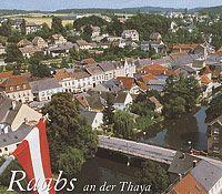Blick auf Raabs vom Söllner der Burg - Raabs an der Thaya Niederoesterreich