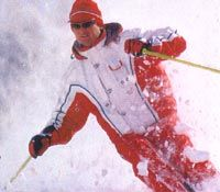 Skifahrer - Hohentauern Steiermark