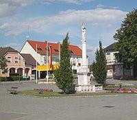 Ortsansicht von Neudorf bei Staatz, Land um Laa an der Thaya - Neudorf bei Staatz Niederoesterreich