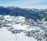 Ortsansicht im Winter - Wuerflach Niederoesterreich