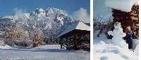 Winterpanorama - Kirchbach Kaernten