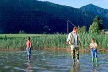 Fishing in Lake Walchsee