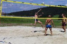 Beach-Volleyballplatz im Kollerado