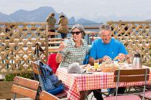 Bergfrühstück am Diedamskopf