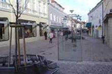 Fußgängerzone - Einkaufsstraße