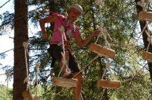 Damüls wood climbing park
