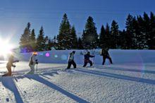 Geführte Schneeschuhwanderung Tiefenwald