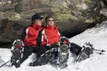 Geführte Schneeschuhwanderung mit den Biosphärenpark Nockberge