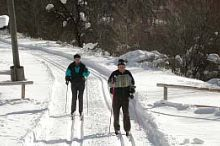 Cross-Country Skiing Tracks