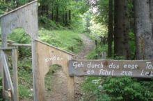 Besinnungsweg Dien-Mut-Weg
