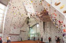 Kletterzentrum im Delta Sportpark