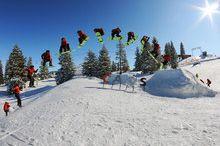 Freestyle - Park im Skigebiet Grünau-Kasberg