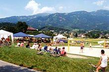 Beach-Volleyball-Anlagen Seeboden