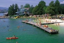 Alpine Beach Mondsee