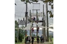 High rope course & team park