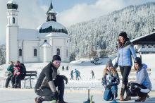 Winter-Erlebnisse - Ich lern´s in Seefeld - Eisstockschießen