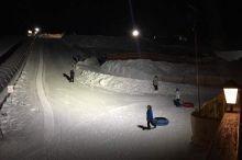 Night Snow Tubing am Birkenlift