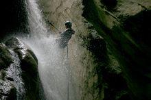 Canyoning Burggrabenklamm - Alpinschule 4 Elemente